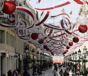 21 diciembre 2010 emprende m laga - Decoracion navidena para comercios ...